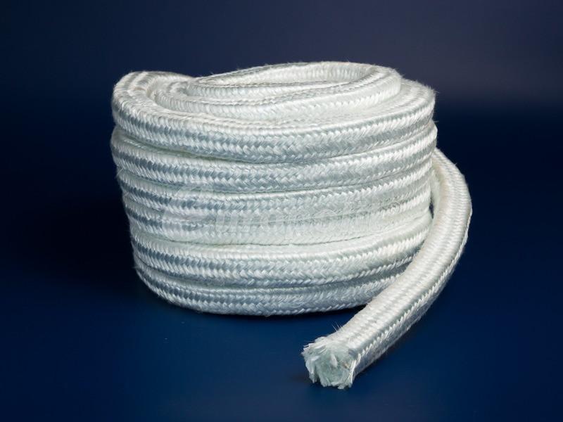 Шнур стекловолоконный уплотнительный термостойкий ESS-15 550 ⁰С