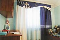 Пошив штор из ткани заказчика