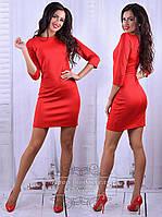 Классическое женское платье демисезон