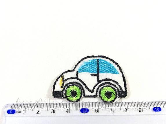 Детская нашивка машинка, фото 2