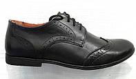Туфли-оксфорды мужские классика Top-Hole кожаные To0003