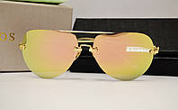 Женские солнцезащитные очки Lotos LT01 розово оранжевая линза