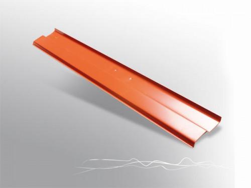 Планка для примыкания Alu алюминиевая 70 мм*2 м/п (прижимная планка), Abwerg Польша