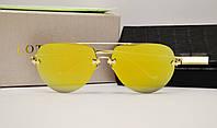 Женские солнцезащитные очки Lotos LT01 желтая линза