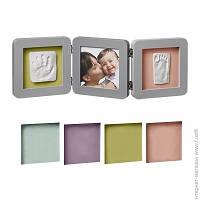 Набор Для Отпечатков Baby Art Double Print Frame, grey (34120139)