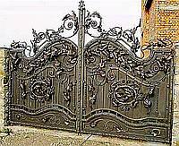 Кованые ворота №3
