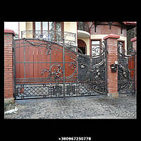 Кованые ворота №4