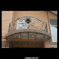Кованый балкон 20003