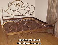 Кованая кровать ККТ-003