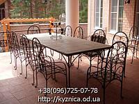 Кованый стол КСТ-001