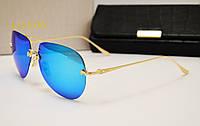 Женские солнцезащитные очки Lotos LT01 синяя линза