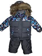 Зимний костюм для мальчика р.80-122