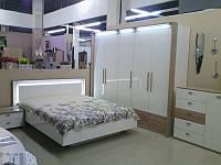Кровать  MW1400 Верона Белая