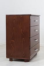 Комод деревянный Прованс Микс мебель,  цвет темный орех / венге + патина, фото 2