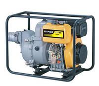 Мотопомпа Kipor  с дизельным двигателем для грязной воды KDP 40T