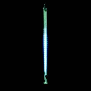 """Светодиодная гирлянда внешняя Delux """"Snowfall""""  c 128LED 1м бел/бел IP44 Код.57267, фото 2"""