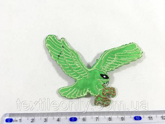 Нашивка Орел колір зелений, фото 2