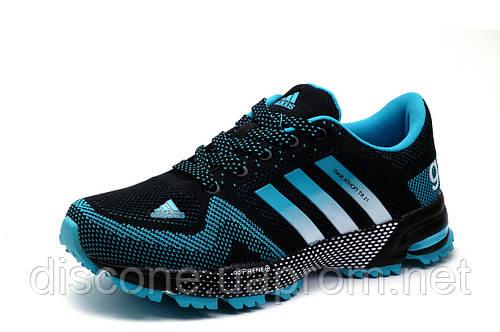 Кроссовки Adidas Marathon TR 21, унисекс, черные, р.  37 38 39 40