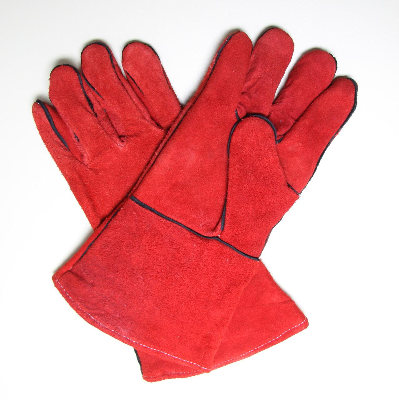 Краги сварщика (красные)