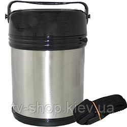 Термос для еды +приборы 1,8 л  (740мл,300мл,250мл)