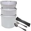 Термос для еды +приборы 1,8 л  (740мл,300мл,250мл)  , фото 3