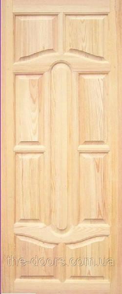 Двері модель М17 з масиву сосни