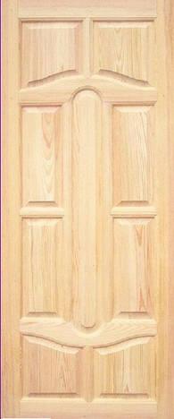 Дверное полотно модель М17 глухое сосна