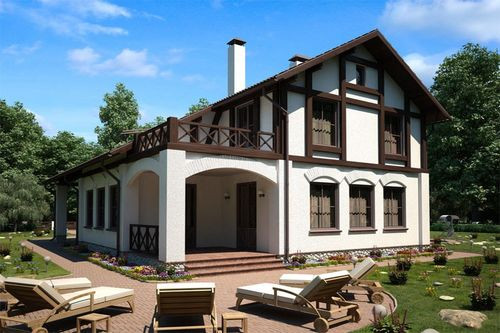 Построить Дом в стиле Шале