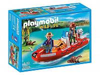 Конструктор Playmobil Лодка с браконьерами 5559