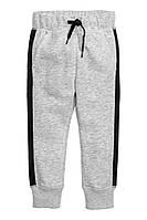 Спортивные штаны для мальчика на манжетах +начес