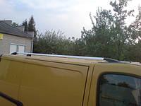 Рейлинги Opel Vivaro, Опель Виваро 2002 - 2015 короткая база хром (пластиковая ножка)