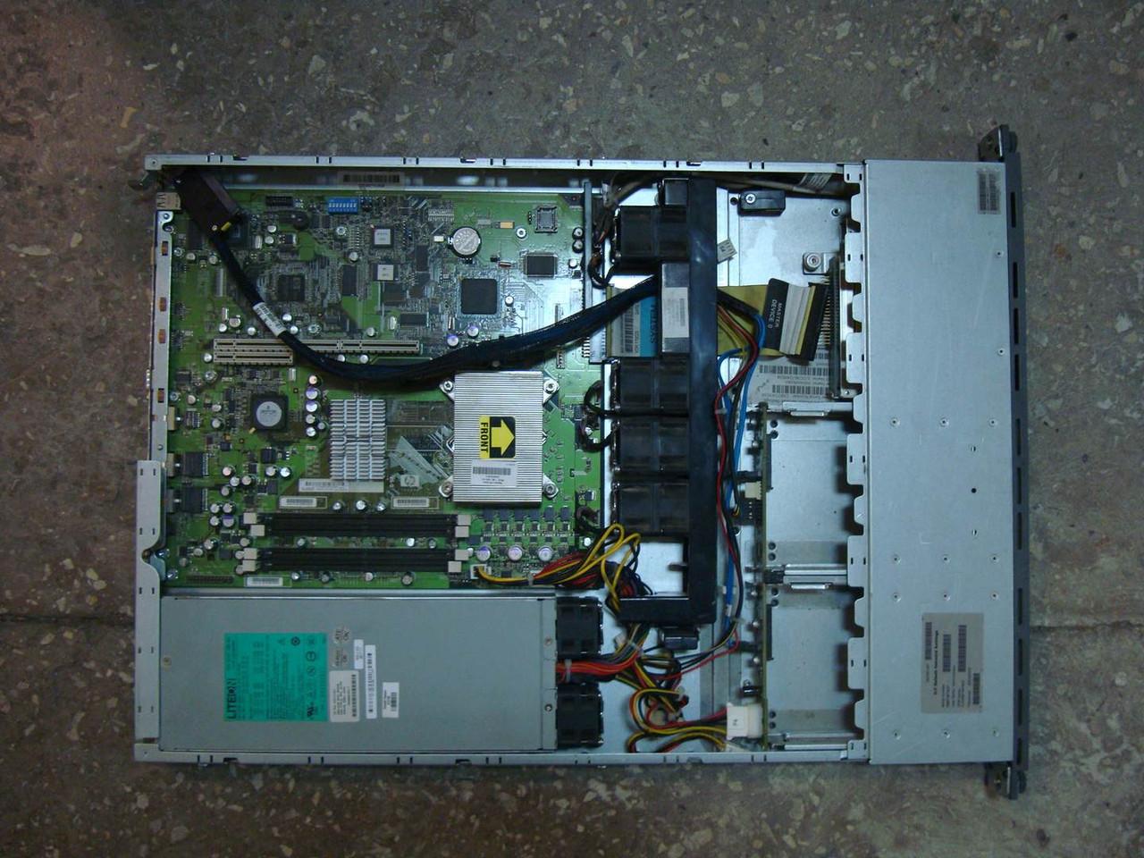 Cервер HP ProLiant DL320 G5 на запчасти без корпуса