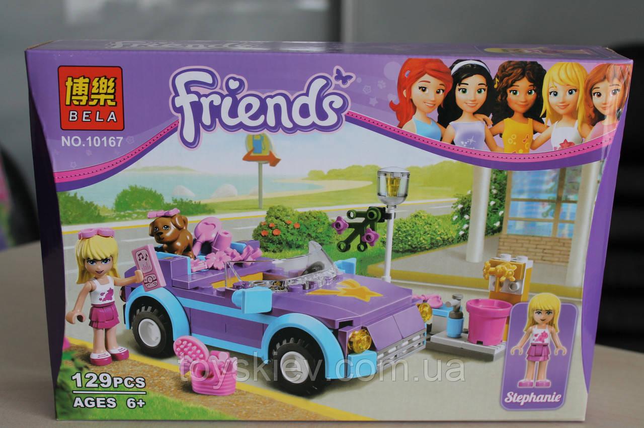 Конструктор Friends 10167 Крутой кабриолет Стефани