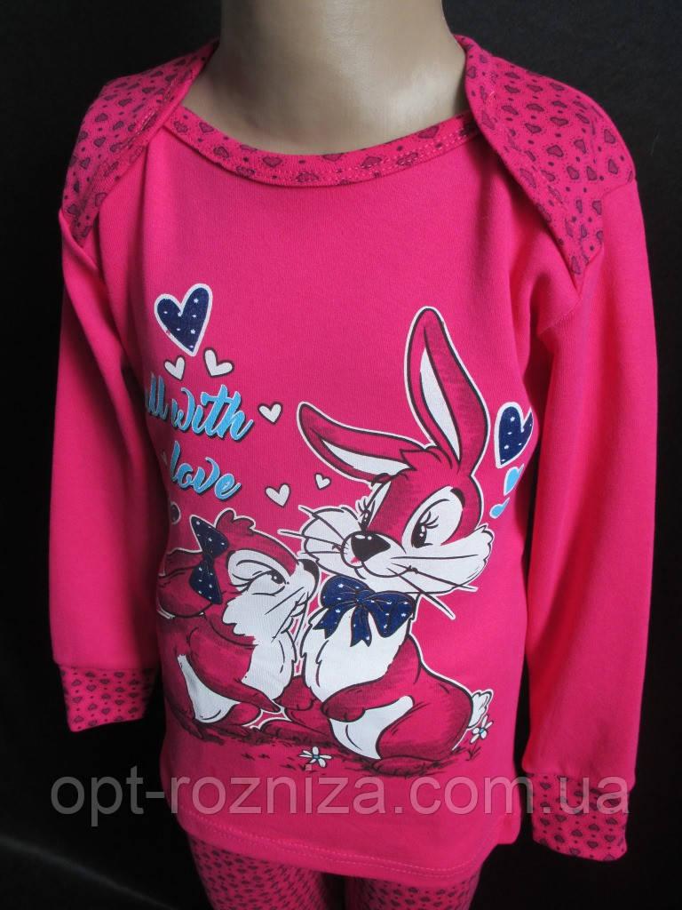 Детские пижамы из плотного трикотажа