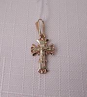 Крестик золотой 585* с распятием (арт. ДКР 55)