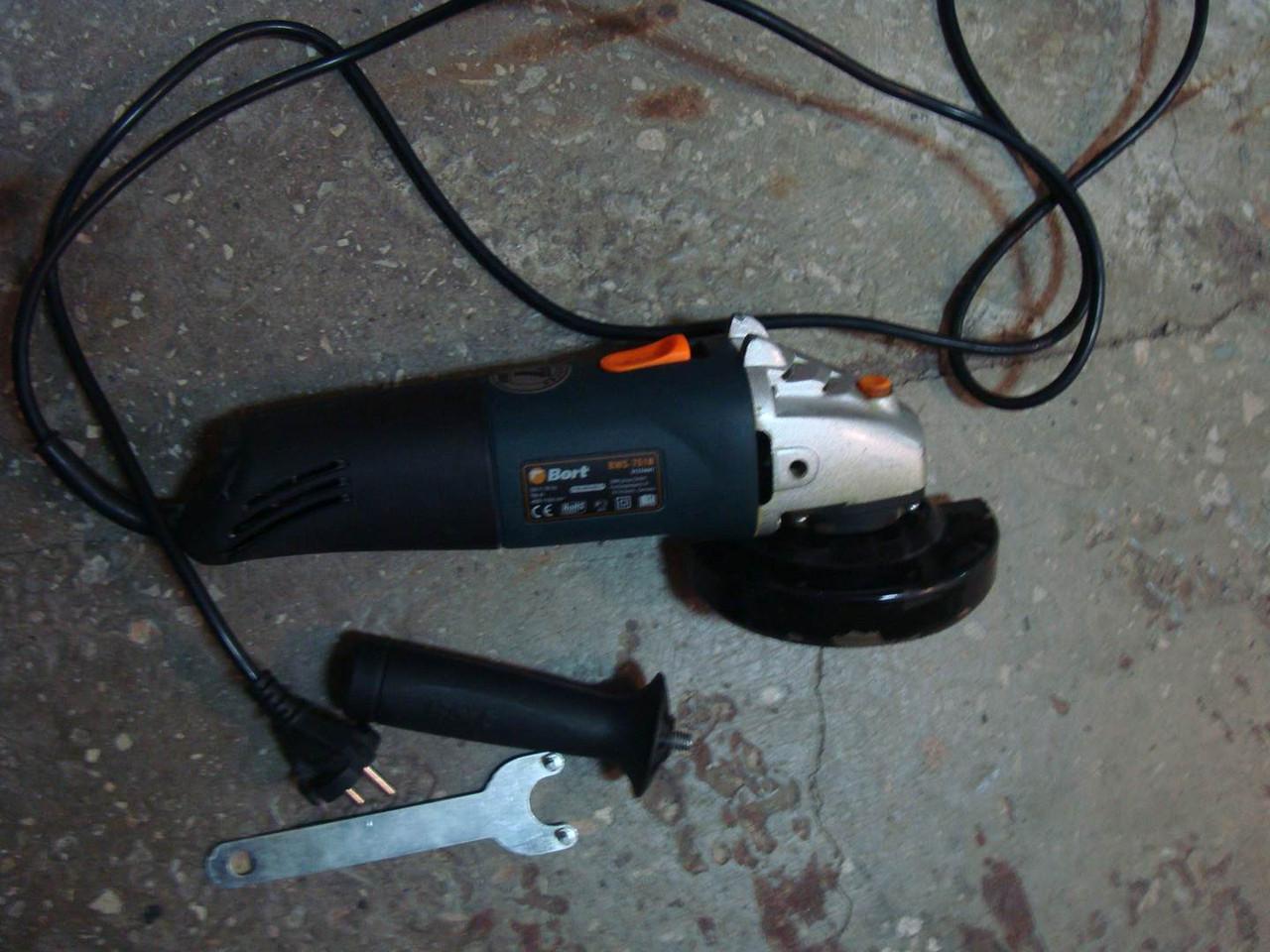 Болгарка Bort BWS-751N 750 W