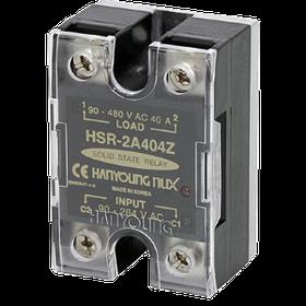 Однофазные реле, управление 90-264V AC, напряжение нагрузки 90-480V AC(высокое)