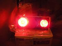 Задние фонари на ВАЗ 2106 стиль Skyline №4 (супер черные)