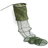 Садок рыболовный сетка большой 2.5 м, фото 1