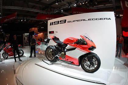 Новые модели мотоциклов от Ducati на EICMA-2013