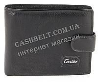 Удобный мужской кошелек с визитницей CANTLOR art.793Е-K black
