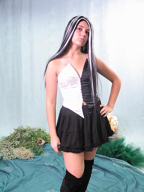 Взрослый карнавальный костюм - ведьма