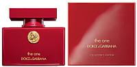 Женские духи Dolce&Gabbana The One Collector's Edition Women (Дольче Габбана Зе Ван Колекторс Эдишен Вумен)