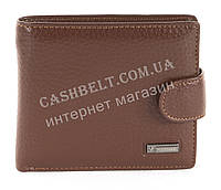 Мужской стильный классический кошелек с искусственной кожи коричневого цвета FUERDANNI art. 4355 черный