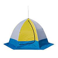 Четырехместная палатка для зимней рыбалки СТЭК Elit 4