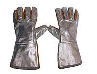 Перчатки (рукавицы) алюминизированное для защиты от повышенных температур (категория 2)