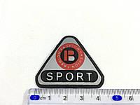 Нашивка  Sport (small) резиновая светоотражающая