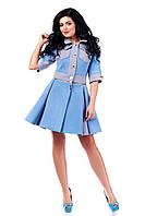 Модное женское кашемировое осеннее пальто арт. 923 Тон 9