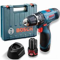 Аккумуляторная дрель-шуруповерт Bosch GSB 1080-2-LI Professional (2 аккумулятора) 06019F3000