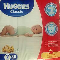 Подгузники Huggies Classic 2/88шт